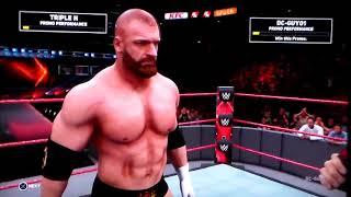 DC Guy01 - WWE 2k18 Walkthrough Pt. 73 - Challenging HHH