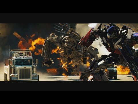 Transformers (2007) - Prime vs Bonecrusher and Final Battle - Only Action