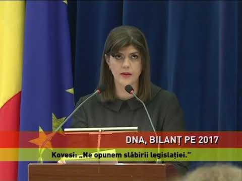 Bilanţ DNA 2017. Au fost trimişi în judecată 3 miniştri, 6 parlamentari, 2 secretari de stat