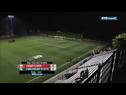 Maryland at Michigan State - Men's Soccer Wrap-Up