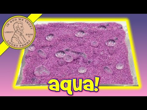 AQUA - Get This Item From the Lucky Penny Shop! http://luckypennyshop.com/aqua-magic-sand-3-mini-glitter-bottles/ Watch more Spin Master toy videos: http://www.yout...