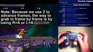 I made a quick new tutorial on how to use Develop Mode (frame by frame) in 20XX hack pack