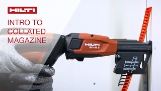 Hilti collated screw magazines SD-M 1 & 2 - Introduction