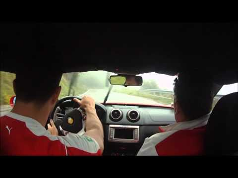 Ferrari California Panoramic Tour TestDrive em Maranello