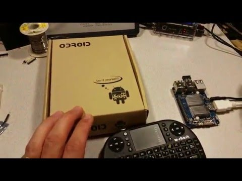 ODROID-VU7 and ODROID-C1+ Assembly