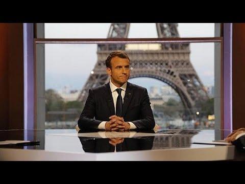 Μακρόν: Επιτυχής η επιχείρηση στη Συρία