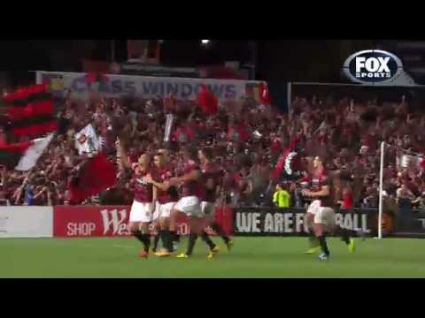 ono - Shinji Ono scores an absolute gem of a goal to send Western Sydney Wanderers through to the A-League Grand Final. Footage courtesy of FOXSports, no copyright...