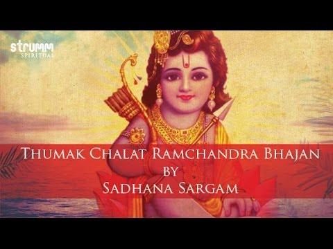 Video Thumak Chalat Ramchandra Bhajan by Sadhana Sargam download in MP3, 3GP, MP4, WEBM, AVI, FLV January 2017