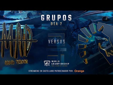 MAD TEAM VS TEAM LIQUID | WORLDS GRUPOS | DÍA 6 | LEAGUE OF LEGENDS WORLDS (2018)