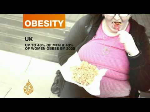 Obesity set to rise in the UK