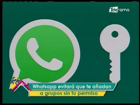 Whatsapp evitará que te añadan a grupos sin tu permiso