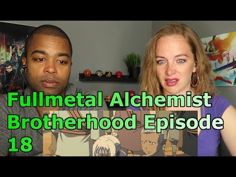 "Fullmetal Alchemist: Brotherhood Episode 18 "" The Arrogant Palm of a Small Human "" (REACTION🔥)"