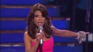 Paula Abdul's 'Idol' finale speech to Simon Cowell