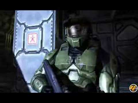 halo2 - its the halo 2 trailer what more to say.