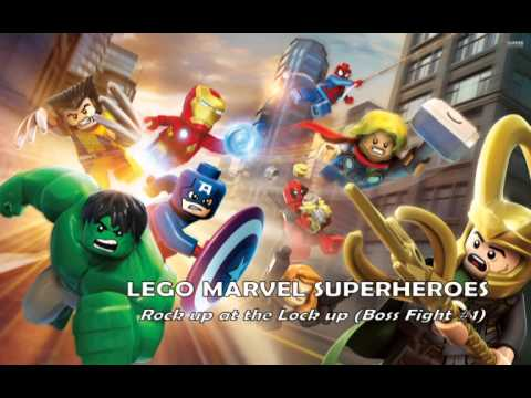 LEGO Marvel Super Heroes - Soundtrack - Rock up at the Lock up (Boss Fight #1)