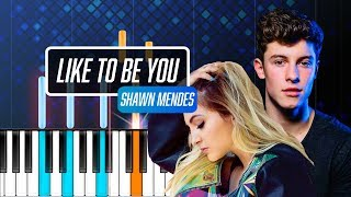 """Video Shawn Mendes - """"Like To Be You"""" ft Julia Michaels Piano Tutorial - Chords - How To Play - Cover MP3, 3GP, MP4, WEBM, AVI, FLV Juni 2018"""
