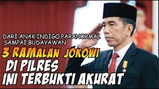 Video GIL4 BROOO!!! 3 Ramalan Soal Jokowi di PILPRES Ini Terbukti Akurat MP3, 3GP, MP4, WEBM, AVI, FLV April 2019