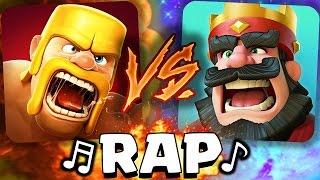 ¡Clash of Clans VS Clash Royale! RAP - [AdryBrix-Antrax] ☣