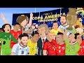 Parodia animada de la Copa América Centenario 2016