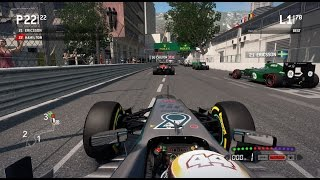 F1 2013 Gameplay Monaco 100% Race Lewis Hamilton. I have never finished a full race around the streets of Monte Carlo on a...