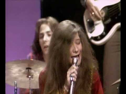 Janis Joplin - July 18, 1969 Janis Joplin in The Dick Cavett Show.
