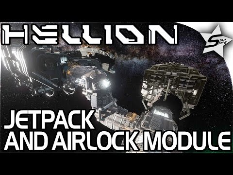 "HELLION – ""Space JETPACK, AIRLOCK MODULE, FULLY WORKING BASE!"" – Hellion Gameplay Part 2 (Tutorial)"