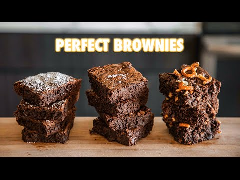 How To make The Most Perfect Brownies (3 Ways)