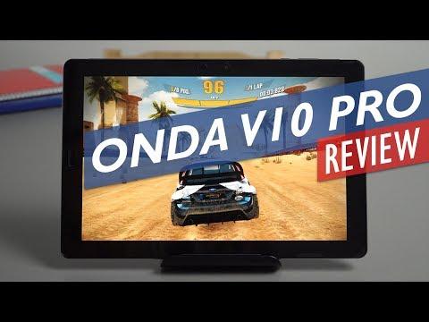 Onda V10 Pro Unboxing & Review 2560 x 1600p OGS Phoenix OS Tablet