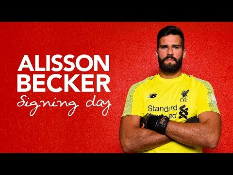 Alisson Becker's first day at LFC | Signing Day Vlog