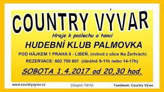 Video Videopozvánka - Hudební klub Palmovka, 01.04.2017