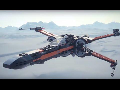 Конструктор Истребитель По - LEGO STAR WARS - фото № 13