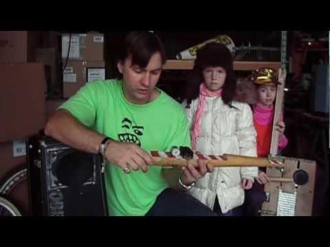 How To Make Cool Homemade Musical Instruments with Trent Holloway and The Gang