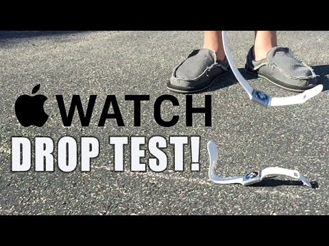 Apple Watch drop and assorted torture tests