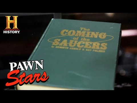 Pawn Stars: Super Rare UFO History is OUT OF THIS WORLD (Season 18) | History