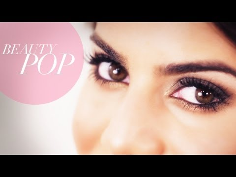 camila - Check out Camila Coelho's other Beauty Pop how to videos to complete this prom look! Bronzed, Glowing Skin: http://goo.gl/xqJtm Natural Nude Lip: http://goo....