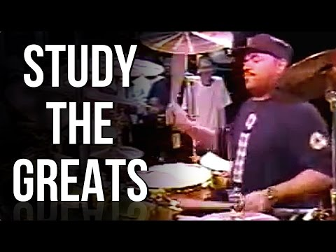Dennis Chambers Insane Crossovers | STUDY THE GREATS