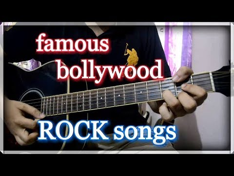 Super Hit ROCK Songs of Bollywood – Easy Acoustic Guitar Lesson | INTRO only!!