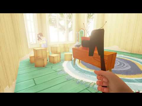 Hello Neighbor Alpha 3 Speedrun in 1min
