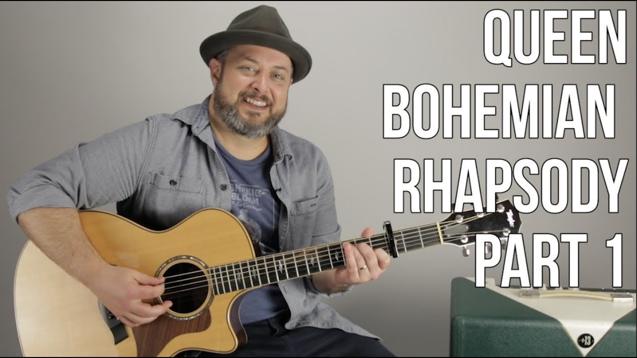 Queen Bohemian Rhapsody – Part 1 – Guitar Chords and Song Tutorial