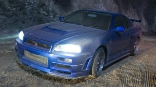 Nonton GTA IV. Nissan Skyline GT-R R34. Fast and Furious 4 Film Subtitle Indonesia Streaming Movie Download