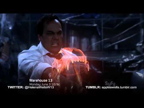 Warehouse 13 - New Promo INSTINCT (S4E15) - Jaime Murray (H.G. Wells) HD