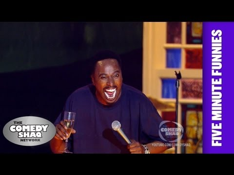 Eddie GriffinI don't like sneaky white people!Shaq's Five Minute FunniesComedy Shaq