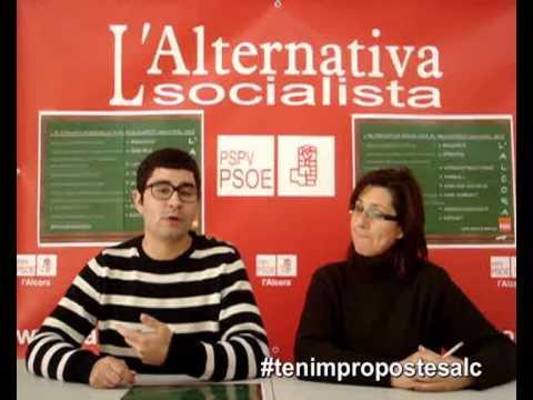 Samuel presenta l'alternativa del PSOE al pressupost de 2013 de l'Alcora