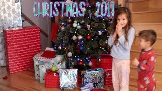 Video 🎄 Christmas Morning 2017 🎁  Opening Presents🎅  Surprise Toys Haul MP3, 3GP, MP4, WEBM, AVI, FLV Maret 2018