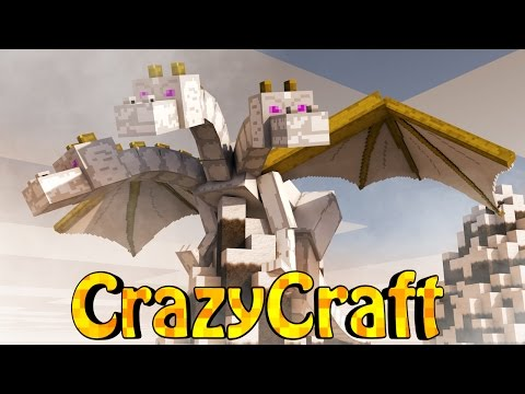 craft - Minecraft adds in a CrazyCraft 2.0's current biggest boss that we must defeat to take over the Craziest Mod-Pack in Minecraft! ▭▻ SUBSCRIBE: http://goo.gl/HUkXxf ○ Mod Packs: http://voidswr...