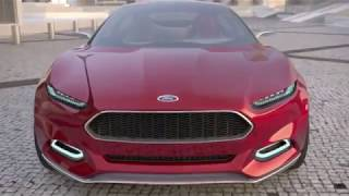 Ford EVOS Hybrid Interior Exterior Detail Commercial - 2013 Carjam TV HD Car TV Show 2013
