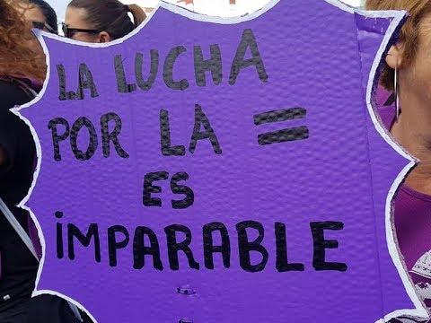 Marcha Violeta Isla Cristina 2019 -No a la violencia de género.