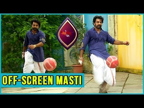 Mukhi Plays FOOTBALL | Off-Screen Masti | Yeh Moh