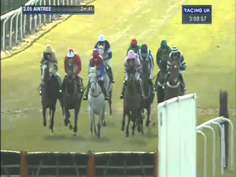 aintree - Ruby Walsh picks up his first winner at the Grand National meeting on board Zarkandar in the 2013 John Smith's Aintree Hurdle.
