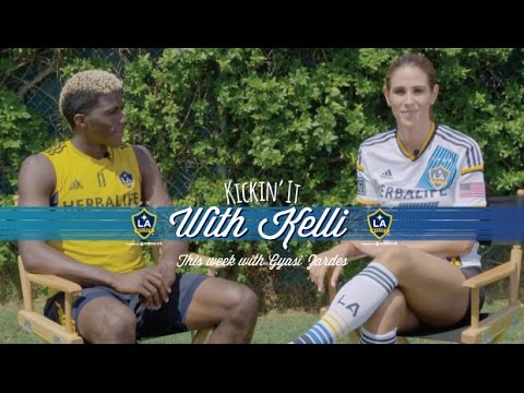 Video: Gyasi Zardes | Kickin' it with Kelli